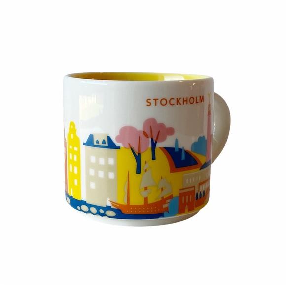 Starbucks Stockholm Mug You Are Here Collection